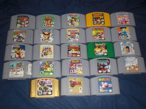 Nintendo 64 Collection 157 In 1 my n64 collection by driver 5000 on deviantart