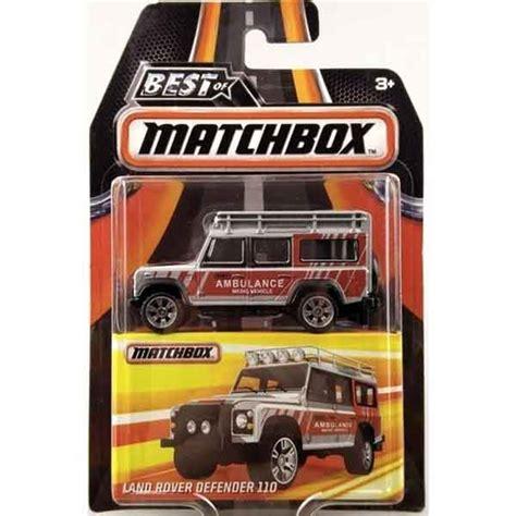 Matchbox Gift Pack Defender Hijau matchbox best of matchbox land rover defender 110 at hobby warehouse