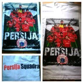 Kaos Shirt Persija The Jakmania oplosan kaos persija squadra