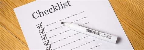 checklist keuken checklist keuken kopen wat u niet mag vergeten bij een