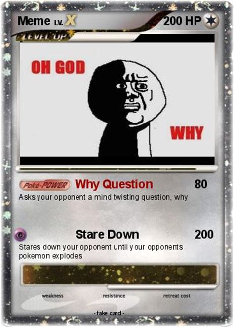 Meme Card Generator - pokemon card memes images pokemon images