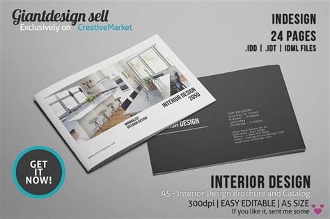 business catalog template brochure creative template