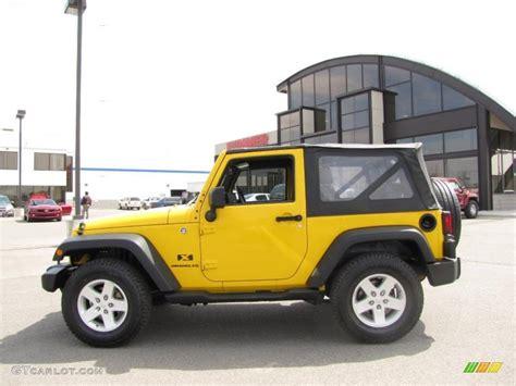 Jeep Yellow Paint 2008 Detonator Yellow Jeep Wrangler X 4x4 28937059