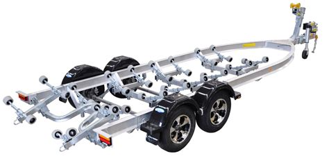 boat trailer width aluminium suparolla series dunbier marine products