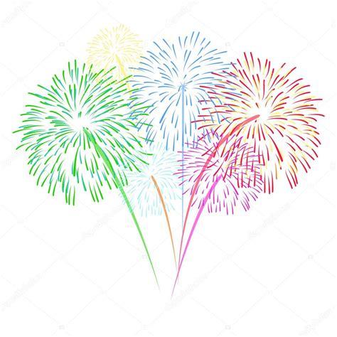 fuochi d artificio clipart sfondo di fuochi d artificio vettoriale vettoriali stock
