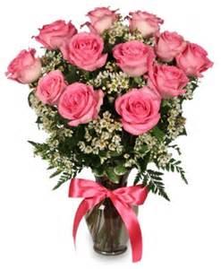 Rose Arrangements Primetime Pink Roses Arrangement In Smithfield Ut Every Bloomin Thing