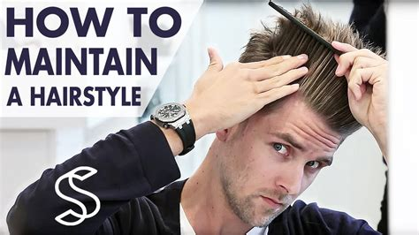 Hair Style For Less Volume And Hair For by How To Maintain A Hairstyle Undercut And Volume S