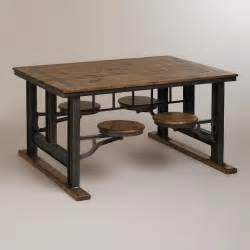 industrial dining room table dining table industrial style dining table