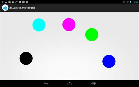 android motionevent handling single and multi touch on android tutorial