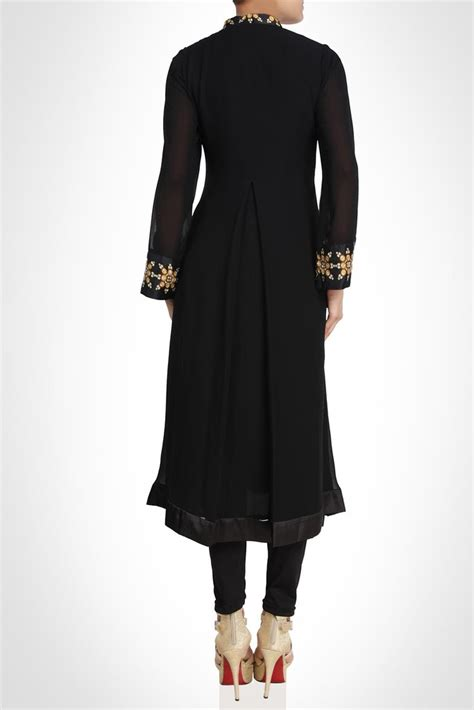 simple and sober simple and sober black color suit panache haute couture