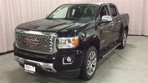 how cars engines work 2008 gmc canyon seat position control 2017 gmc canyon diesel 4wd crew cab denali heated seats black oshawa on stock 170864 youtube