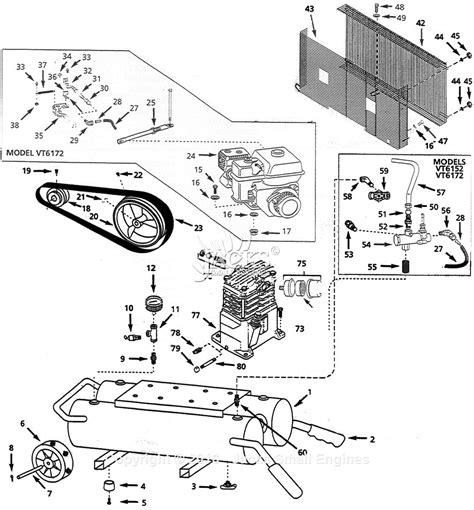 campbell hausfeld vt parts diagram  air