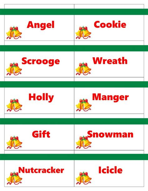 4 best images of christmas charades free printable 497 best images about christmas games to play on pinterest