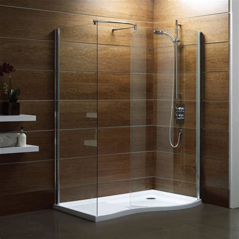 bathroom shower enclosures ideas v6 curved walk in shower enclosure pack 1400 x 900 right