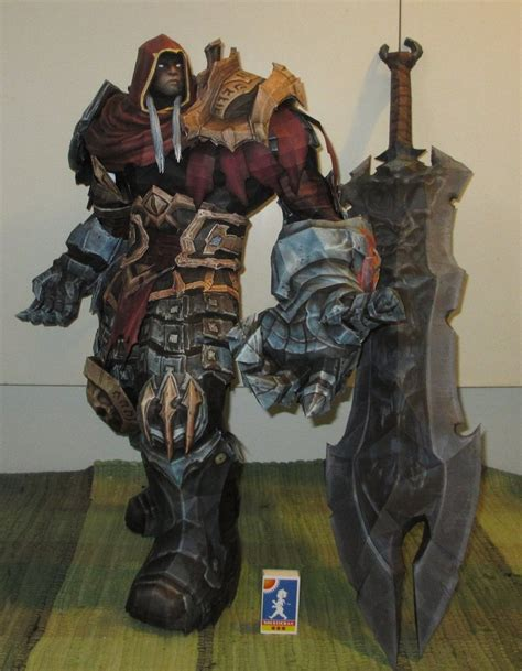 Amazing Papercraft - darksiders amazing papercraft statues by delirium