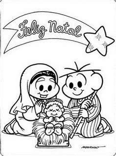 Desenhos de Natal da Turma da Monica I - Sou Catequista