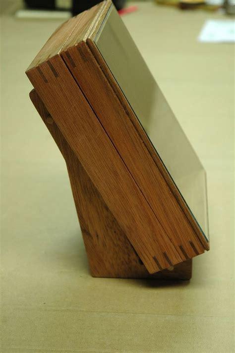 custom  mahogany book display box  wooden   nice