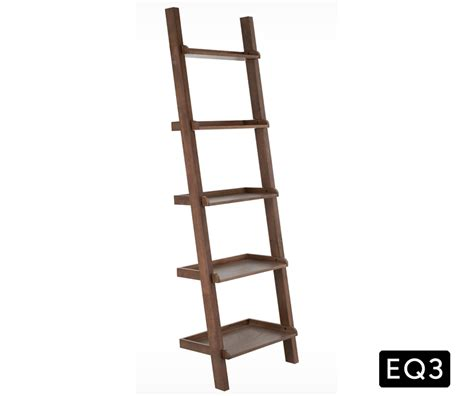 5 shelf ladder bookcase asterix 5 ladder shelf decorium furniture