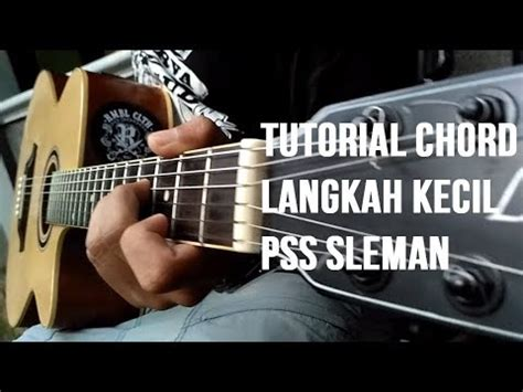 tutorial gitar one thing pss sleman langkah kecil cover acoustic tutorial chord
