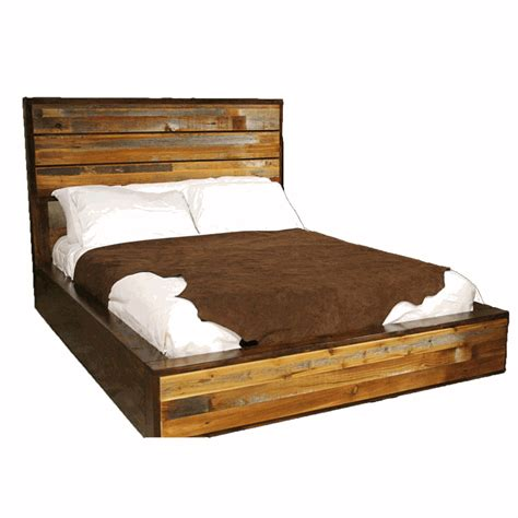 rustic barnwood bedroom furniture collection