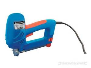 electric staple gun upholstery stapler bradss 100048