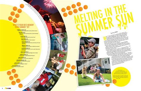 layout school magazine 30 beautiful yearbook layout ideas hative