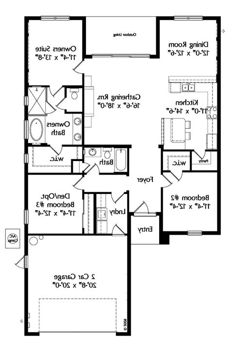 house plan 64638 at familyhomeplans com 1 level house plans with photos