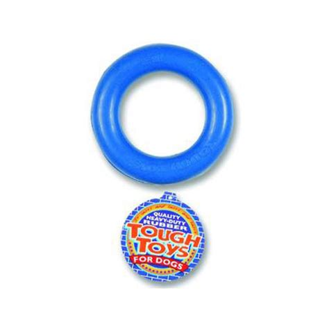 rubber toys buy happypet solid tough rubber ring 6 play