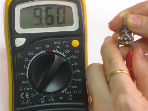 how do you test a resistor multimeter tutorial measuring resistance