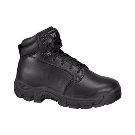 magnum patrol cen mens womens black leather trail hiking