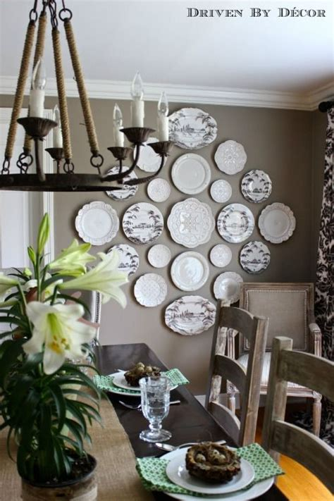 Driven By Decor decorating a poised taupe wall ilevel