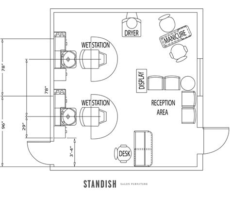 design a beauty salon floor plan small hair salon design ideas and floor plans floor