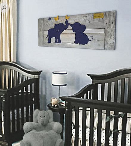 Unique Elephant Nursery Decor Unique Reclaimed Wood Wall For A Baby Nursery Room