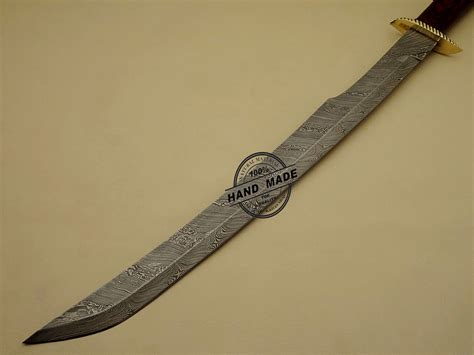 Handmade Swords - best damascus sword custom handmade damascus steel
