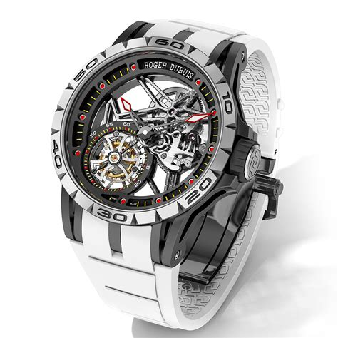 limited edition rubber sts new roger dubuis excalibur spider limited edition with