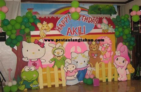 Dekorasi Ruang Tempelan Happy Birthday Ulang Tahun Acara Dekor dekorasi 3d pesta ulang tahun anak