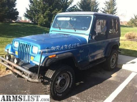 selling jeep wrangler armslist for sale selling a lifted 1991 jeep wrangler