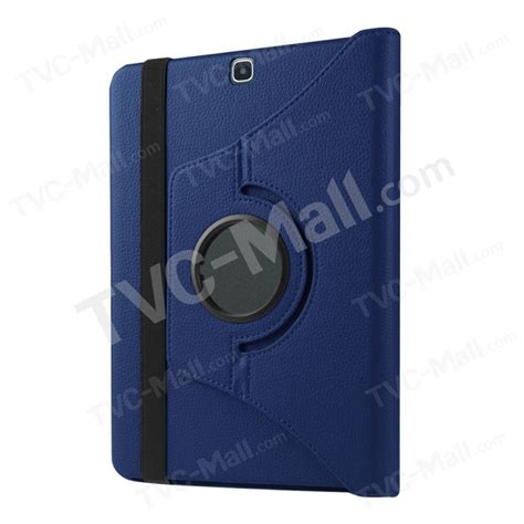 With Rotary Kick Standing Cover Casing For Samsung Galaxy S8 lychee skin leather rotary stand protective for samsung galaxy tab s2 9 7 blue tvc