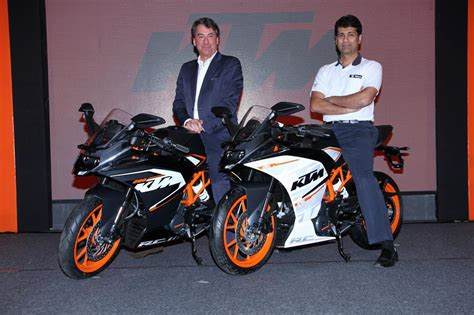 ktm rc 200 price in india ktm india launched rc200 rc390 rs 1 60 and rs 2 05