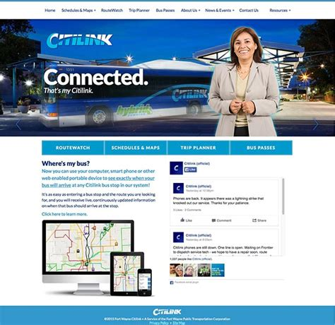 citilink website fort wayne citilink website design and development