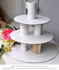 baby shower diaper cake manualidades manualidades gratis