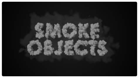 Tutorial After Effect Smoke | smoke objects in after effects easyaftereffects net