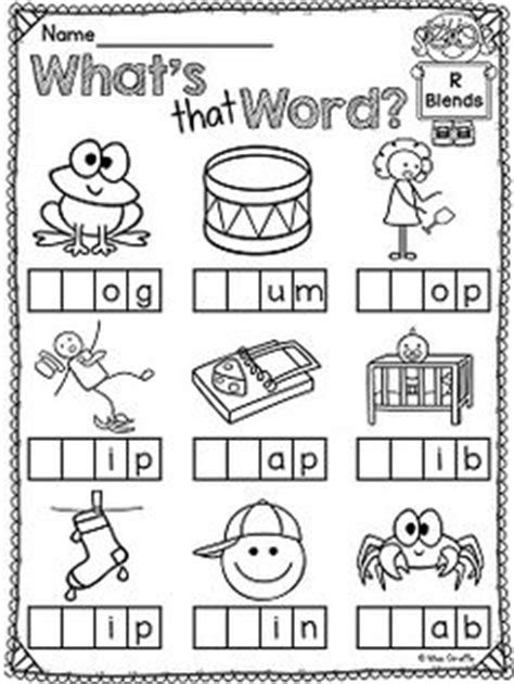 L Blends Coloring Pages by R Blends Worksheets And Activities No Prep Pack