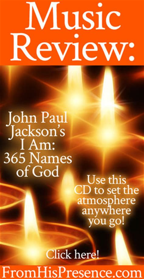 i am god by any other name keith burnett ministries review i am 365 names of god cd