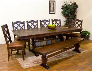 Southwest Dining Room Furniture Santa Fe Southwest Furniture Traditional Dining Tables Other Metro By La Fuente Imports