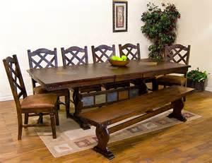 Southwest Dining Room Furniture by Santa Fe Southwest Furniture Traditional Dining Tables