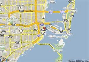 Miami Fl Map by Map Of Intercontinental Miami Miami