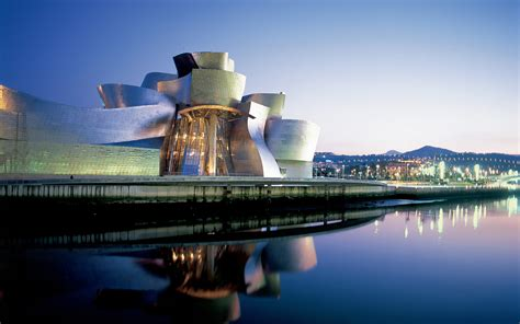 Modern Country Style guggenheim museum bilbao spain most beautiful places