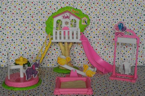 doll house playground 12 13 sold barbie kelly playground playset dollhouse furniture