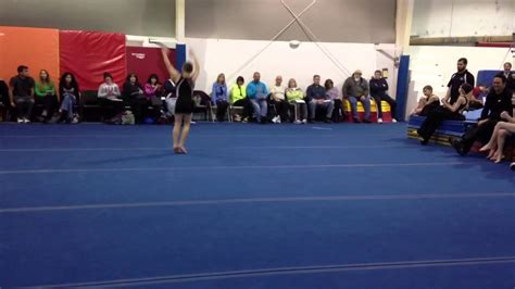 Usag Level 5 Floor Routine owen s level 5 gymnastics floor routine